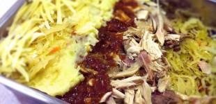 zuurkoolschotel met kip