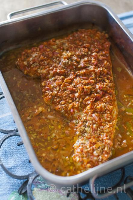 Marokkaans gemarineerde vis