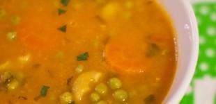 tomatensoep met restjes