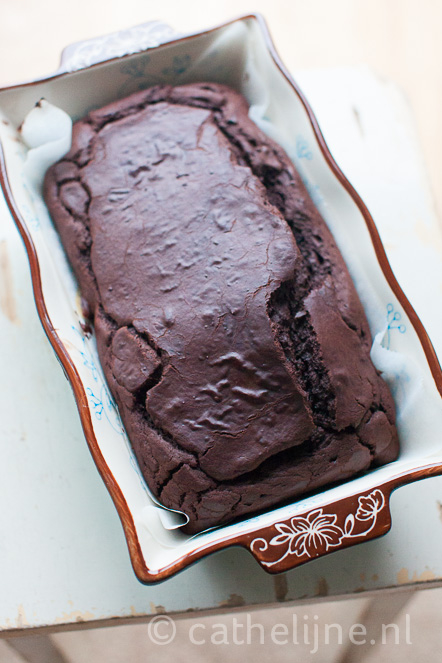 supersimpele chocoladetaart