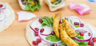 Perzische wraps met kip