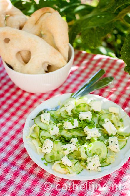 komkommersalade met venkel