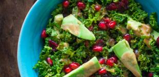 boerenkoolsalade met tahindressing