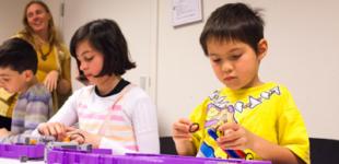 Young Engineers Brick Challenge: racewagen