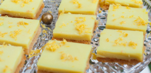 vegan glutenvrije lemon bars